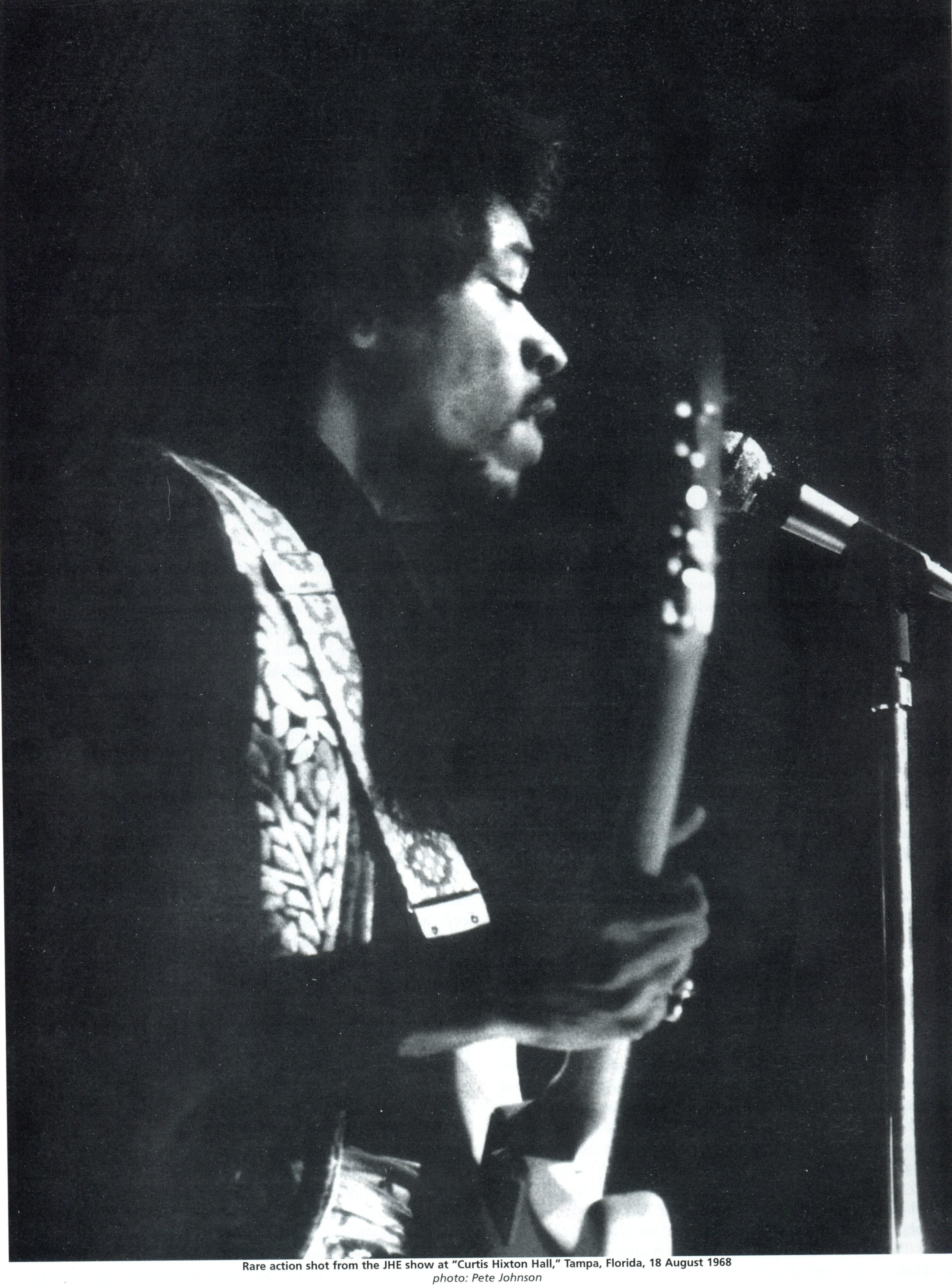 Tampa  (Curtis Hixton Hal) : 18 août 1968 48732119680818