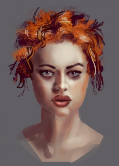 Blop is painting - LE RETOUR SANS CONCESSIONS 488472colorstudy82