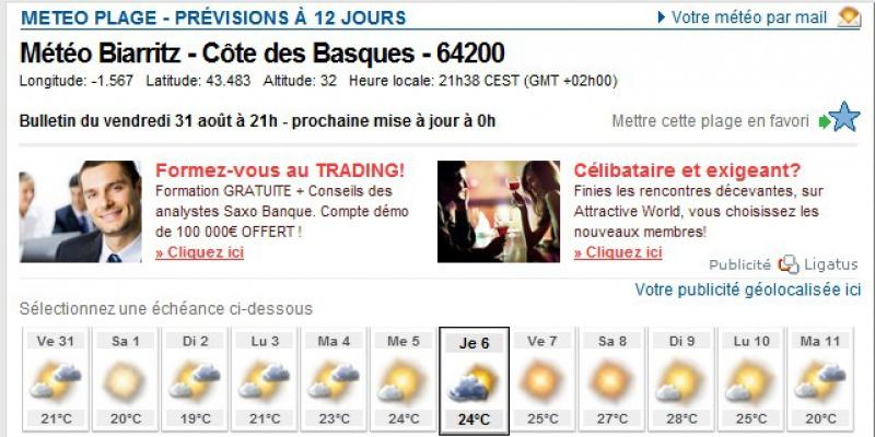 Préparation - LES PYRÉNÉES D'OUEST EN EST-10 jours en Sept 2012 489624mtoJ5Biarritz