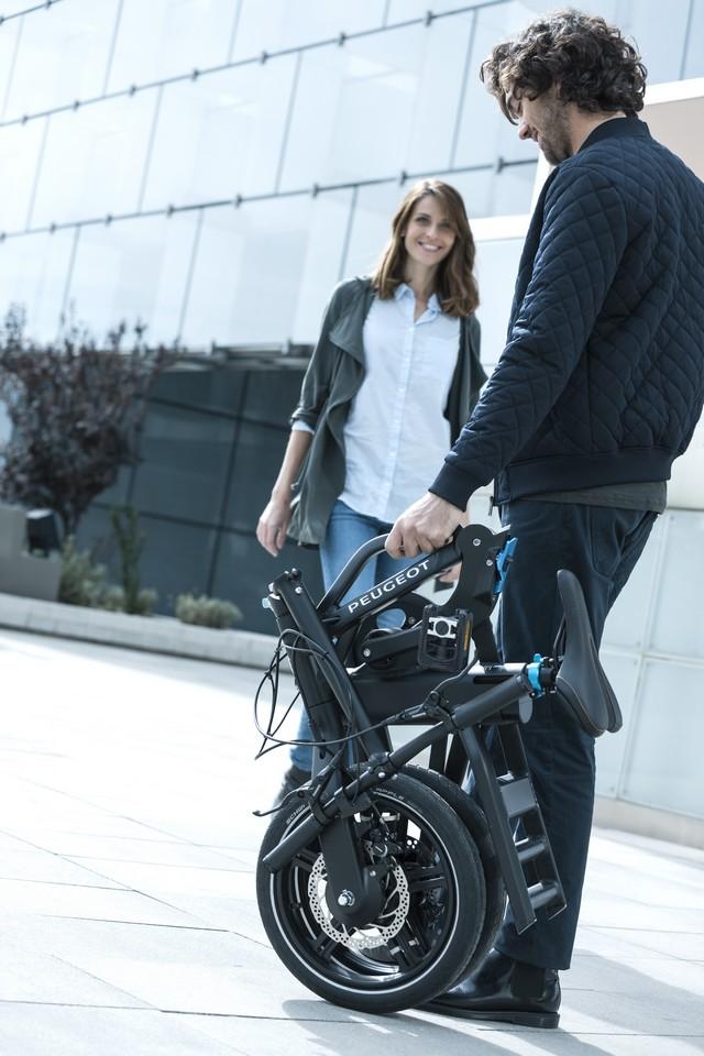 PEUGEOT commercialise son vélo pliant à assistance électrique eF01  4923865PeugeotCycleseF01PhotosCommeF015008009