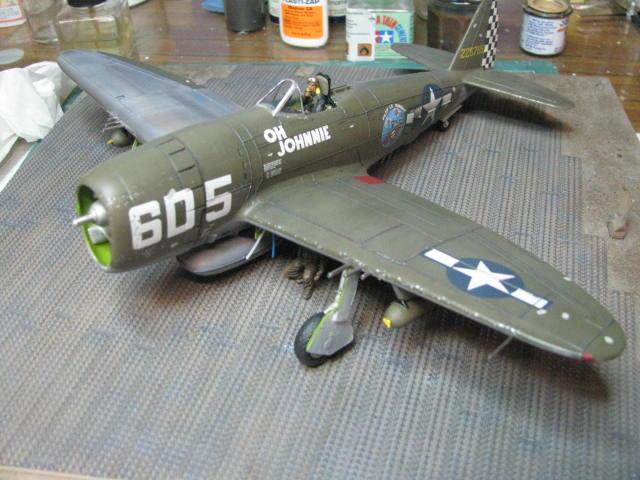 Restauration P-47D Monogram 1/48 .......Terminé!  - Page 2 493633IMG6034