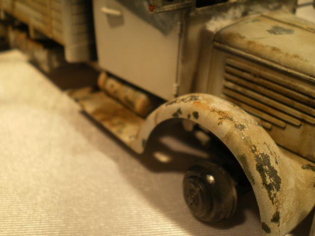 tracteur d artillerie soviétique chtz s-65 version allemande 1/35 trumpeter,tirant 2 blitz de la boue - Page 2 494016IMGP2332