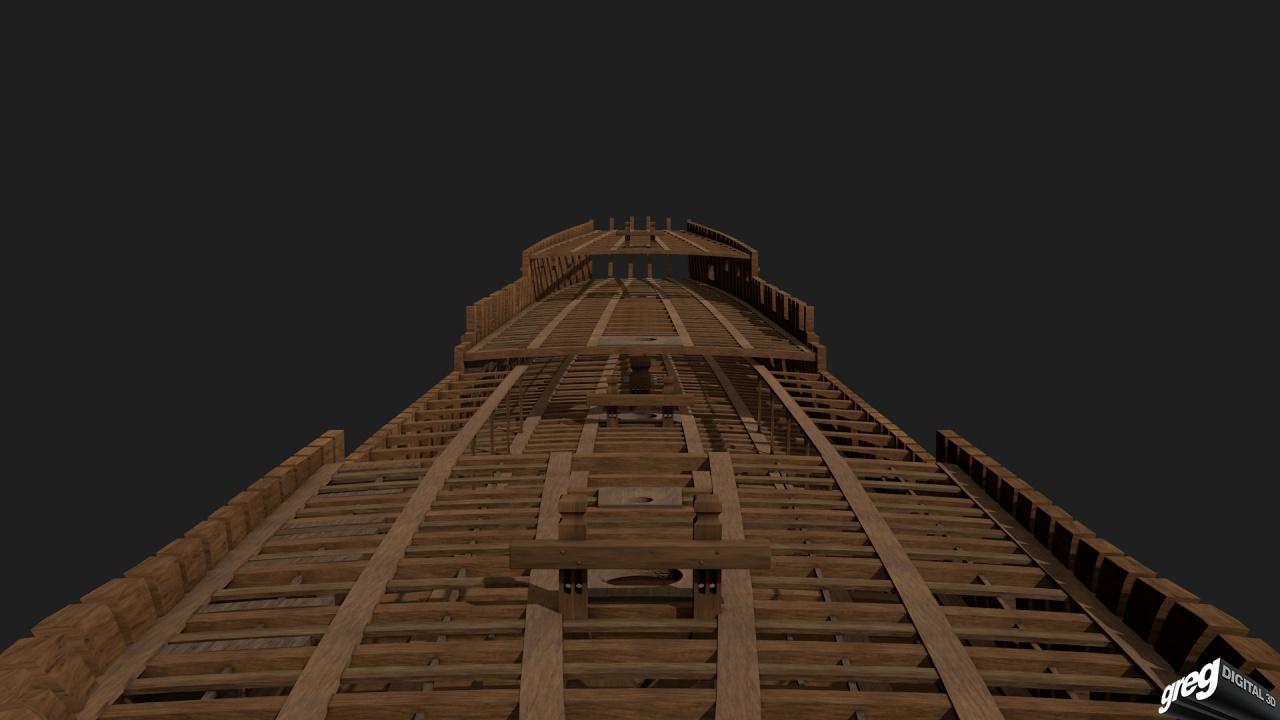 Vaisseau 74 canons Lucide (Création 3D) de Greg_3D - Page 2 495622Squelettebittons3