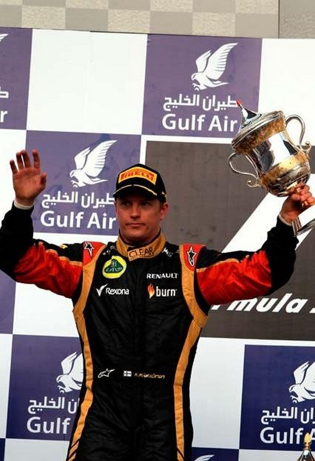 F1 GP de Bahreïn 2013 : Victoire Sebastian Vettel 4957372013KimiRikknen2