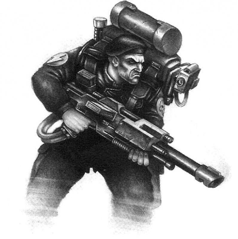 [W40K] Collection d'images : La Garde Impériale 495787Stormtrooper2ndEdition