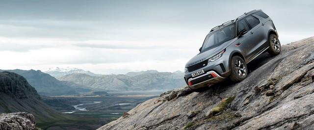 Nouveau Discovery SVX : Land Rover dévoile son champion tout-terrain au Salon de Francfort 495926l46219mysvx010glhd