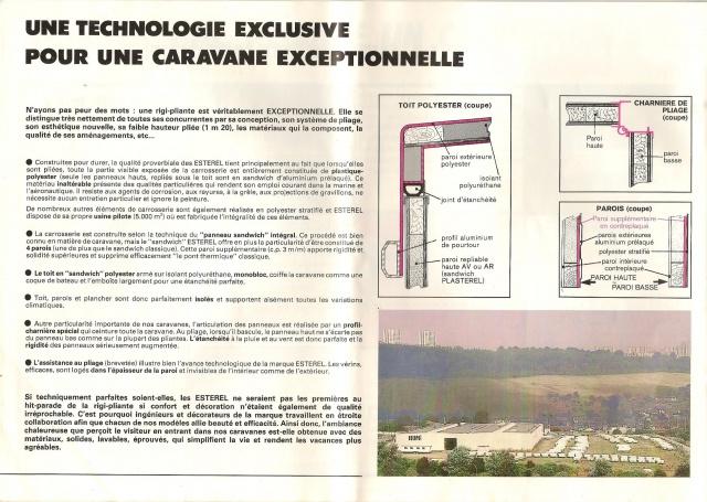 Les Esterel, début 80' 497870Brochure13001