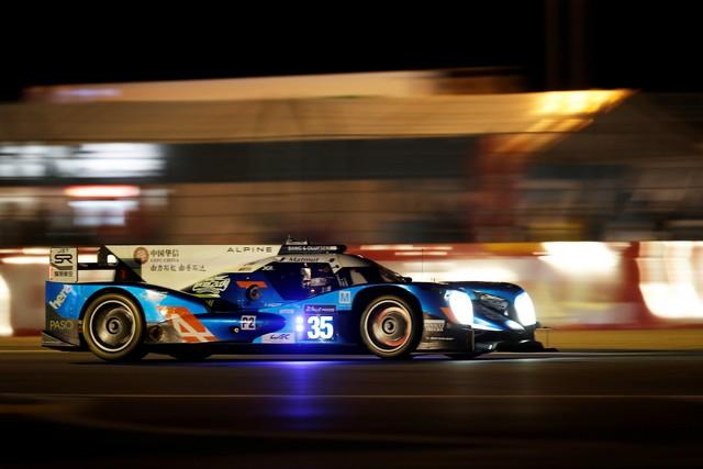 Alpine deuxième et troisième LMP2 sur la grille des 24 Heures du Mans 4995707977516
