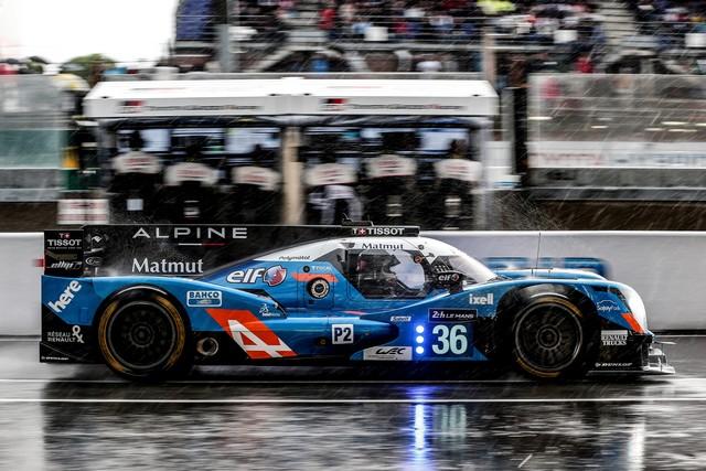 Alpine deuxième et troisième LMP2 sur la grille des 24 Heures du Mans 5028127977416