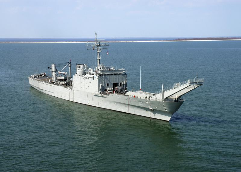 LANDING SHIP TANK (LST) CLASSE NEWPORT  503462ARMPapaloapanexNewport