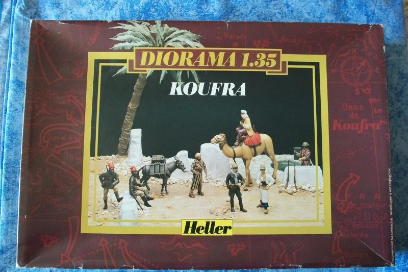 Diorama KOUFRA 1/35ème Réf 81101 505883Heller81101001DioramaKoufra135