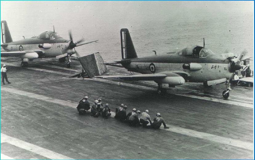 [Aéronavale divers] Breguet Alizé BR 1050 - Page 10 508386derivetricolore