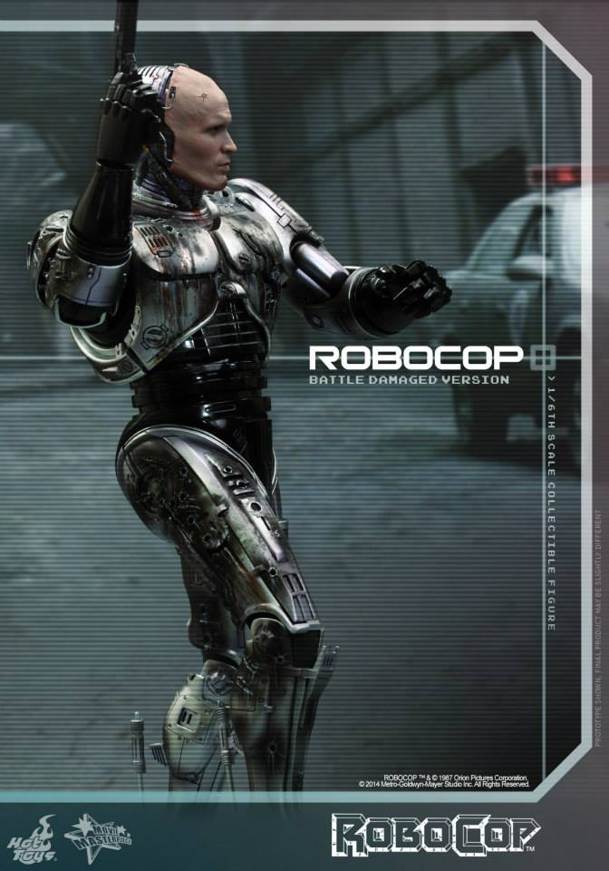 HOT TOYS - Robocop - Robocop (Battle Damaged Version) 509443104