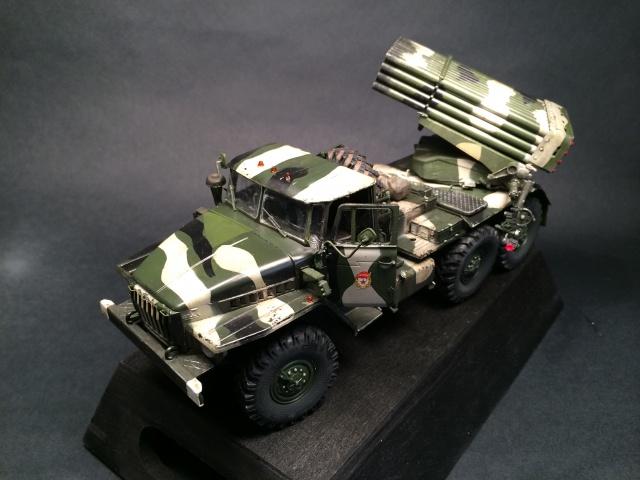 BM-21 Grad - Trumpeter 1/35 511852IMG3260