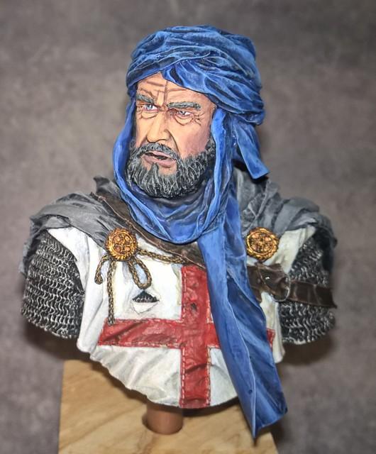 Templier à Jérusalem - Premier buste 512125Templier2