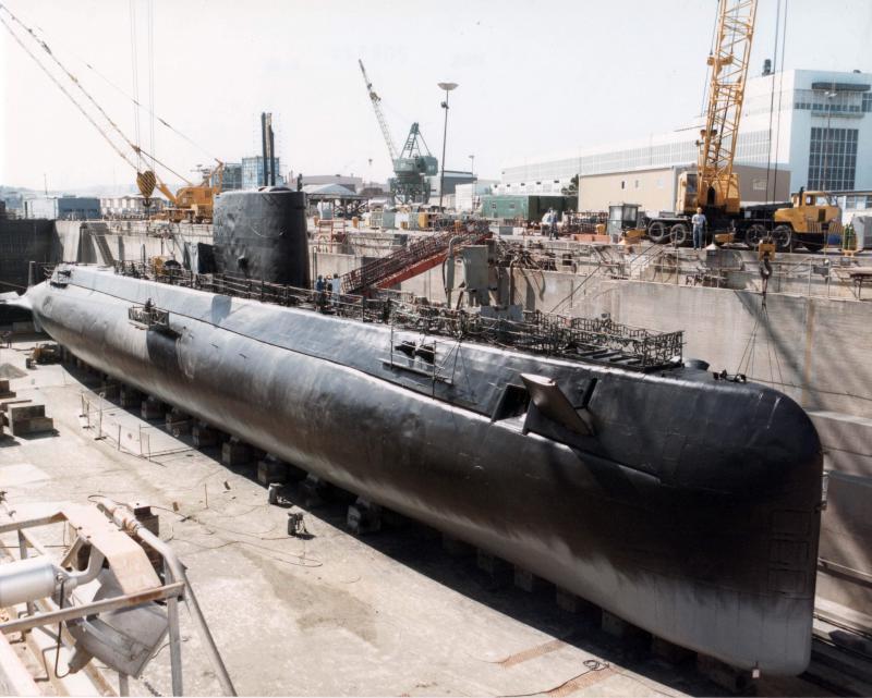 SOUS MARIN NUCLEAIRE D'ATTAQUE USS NAUTILUS 513851USSNautilus1980