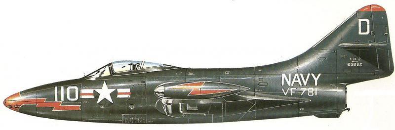 GRUMMAN F9F PANTHER  514753Grumman_F9F_Panther_squadron_VF_781