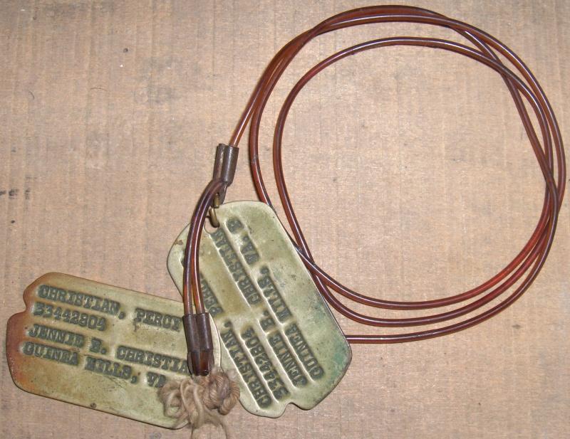 Les Dog Tag U.S. WWII 515645026