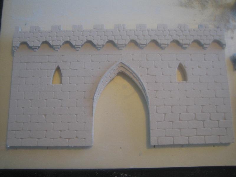 [Tuto] Remparts en plâtre - Moule en polystyrène 516548TECMordheim36