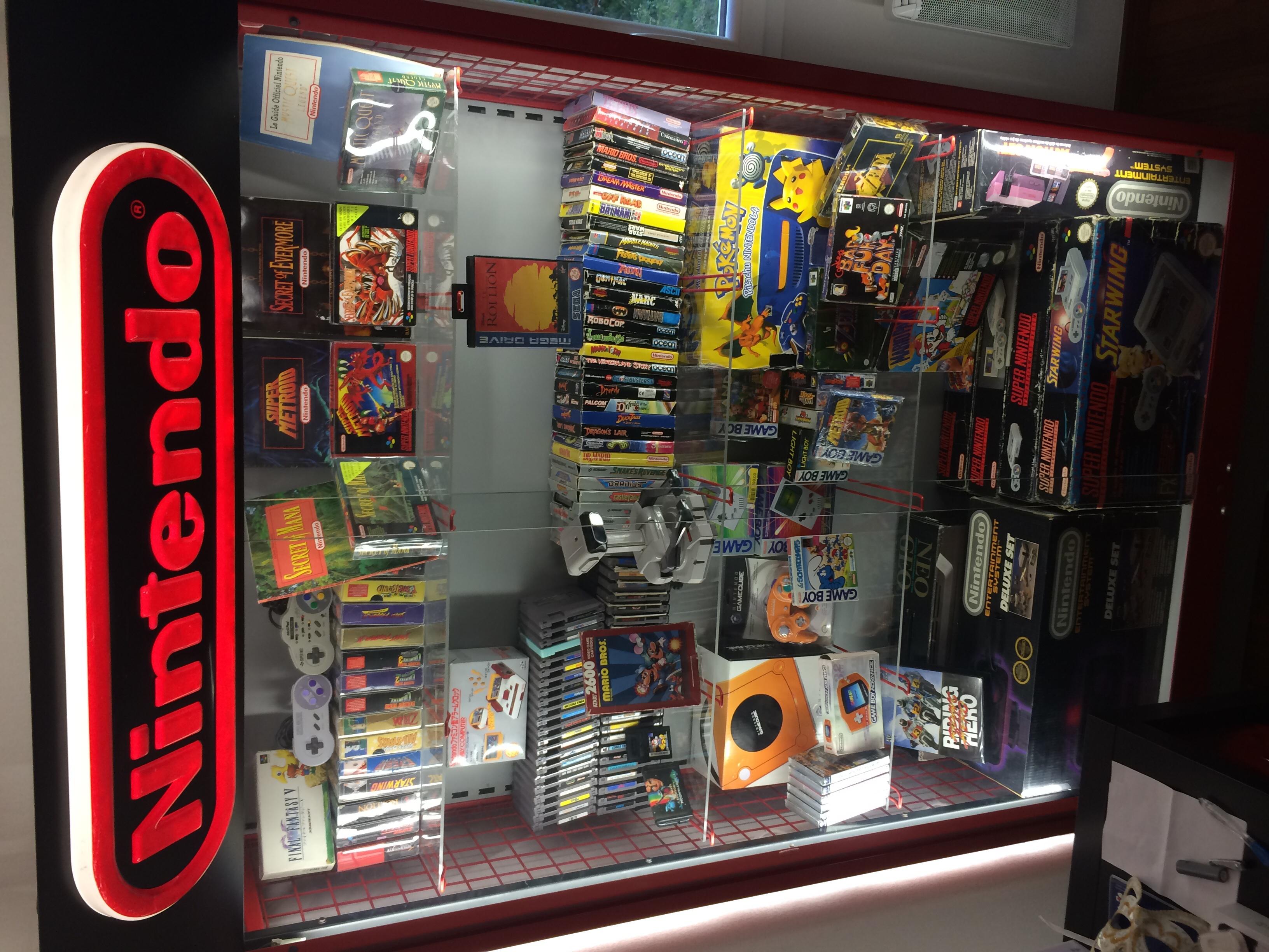 Neon vitrine Nintendo  518922image