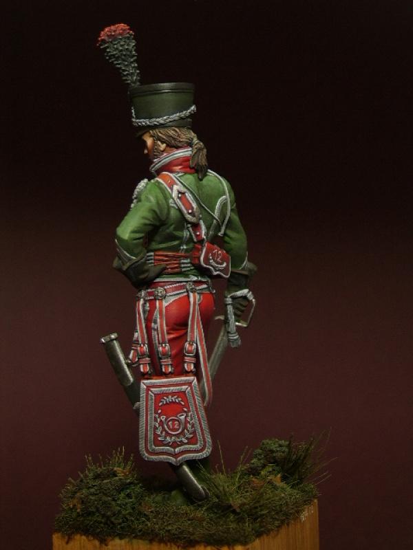 cavalier léger du 12éme régiment (?) 1806  75mm pégaso 518948ollona15