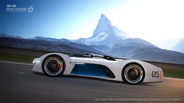 Alpine Vision Gran Turismo : bientôt sur l'écran de votre salon 5192206528316