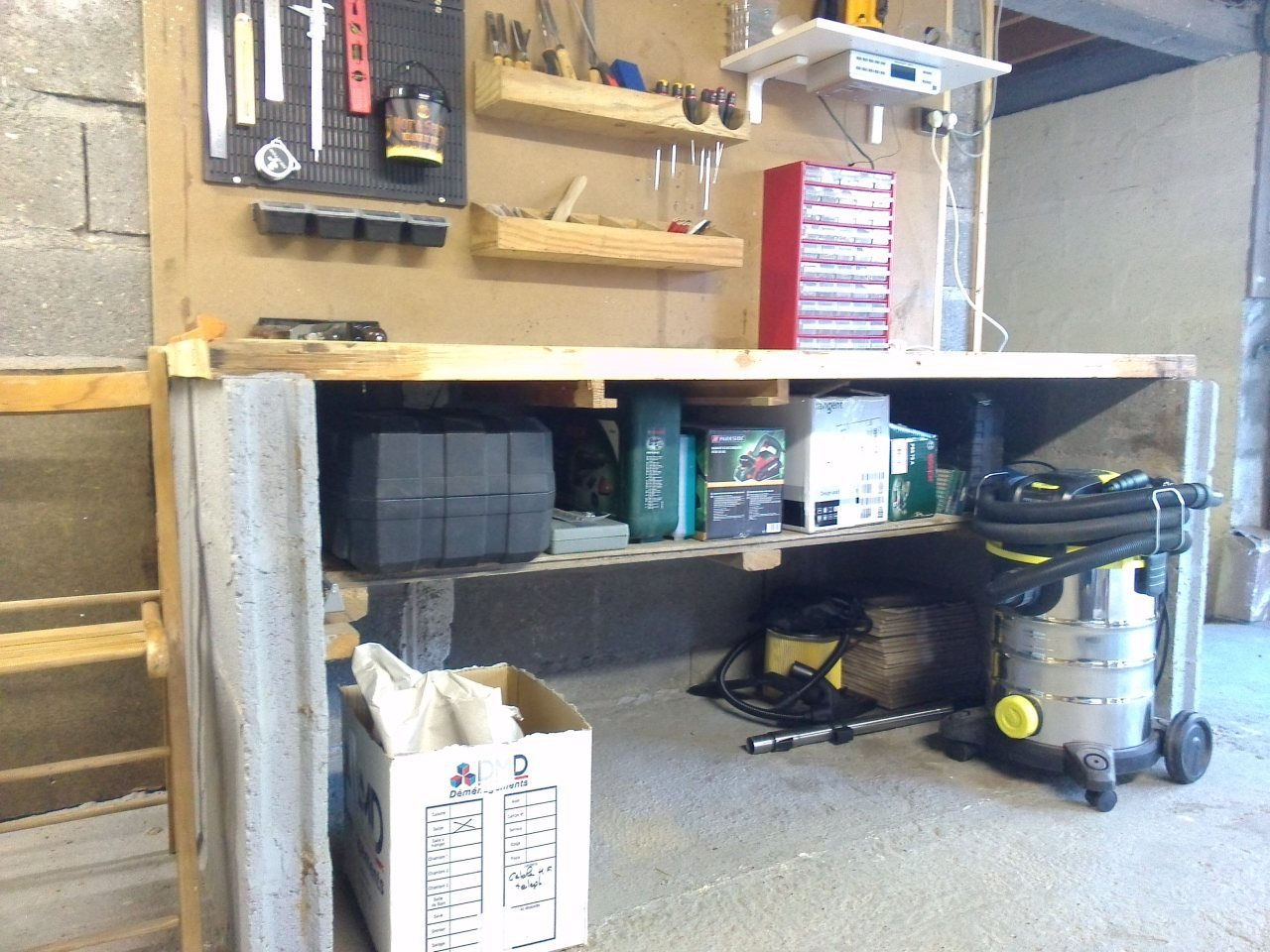 Faire d'un grand garage un atelier !  - Page 2 521504IMG20150627210520