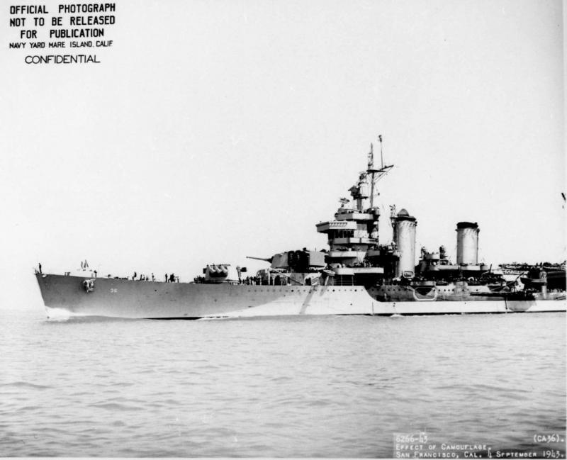 USN CROISEURS LOURDS CLASSE NEW ORLEANS  521512USS_Minneapolis_septembre_1943
