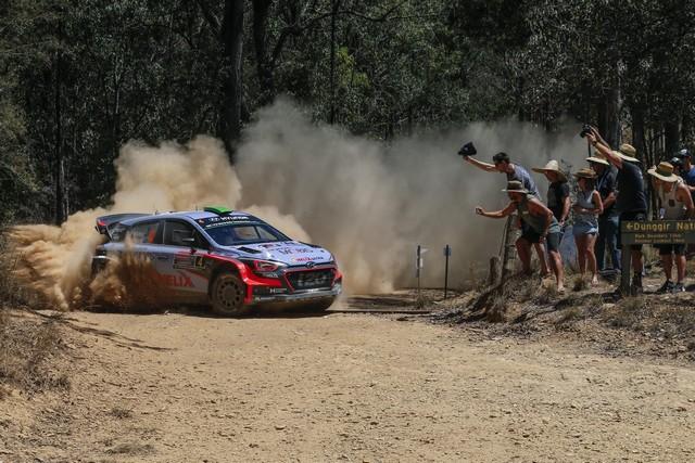 Rallye d'Australie Un ultime podium pour Hyundai Motorsport et la deuxième du championnat pour Thierry Neuville 5215171439podiumfinaleforhyundaimotorsportasneuville