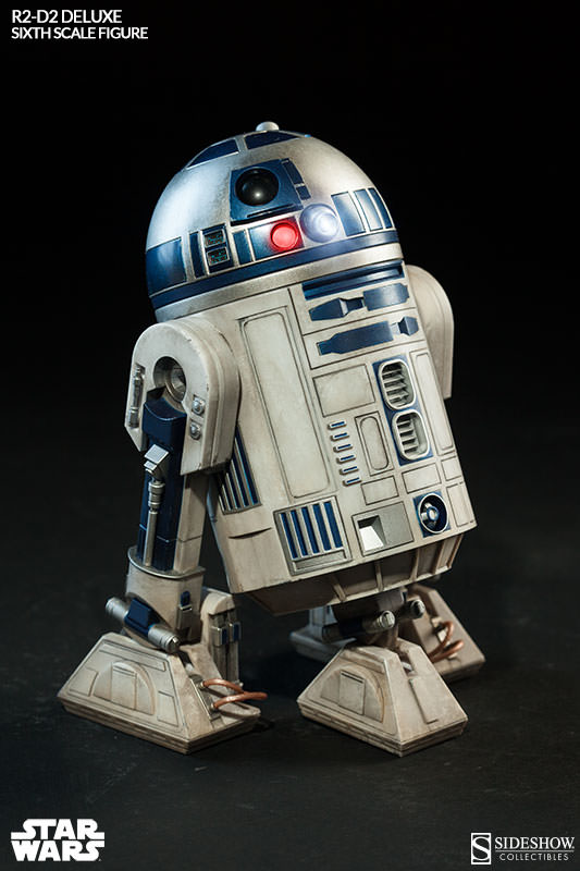 Sideshow - R2-D2 Deluxe Sixth Squale Figure 5227312172r2d2deluxe003