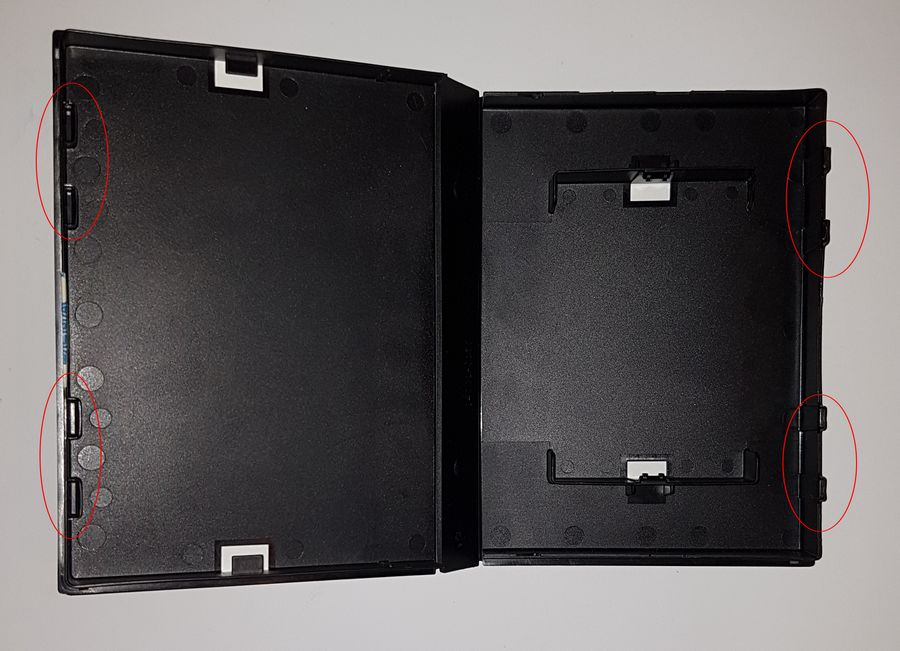 Les differents boitiers de jeux Megadrive 524629769