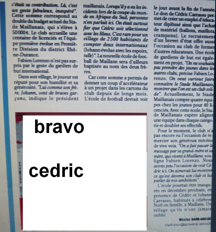CEDRIC CARRASSO 524718P1200844
