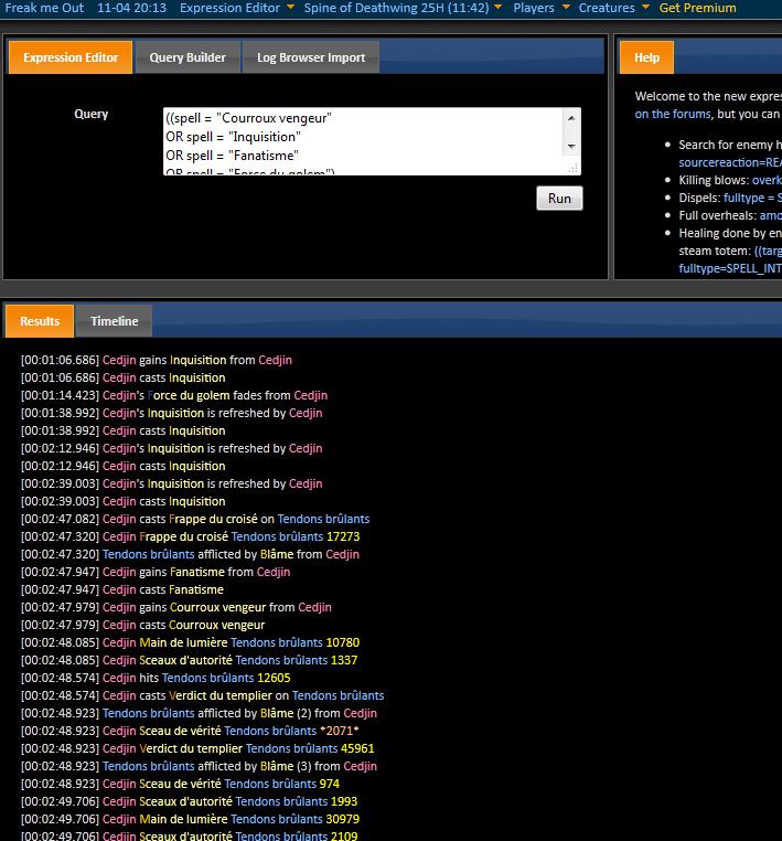 How to ... world of log : Deuxième partie 525867tuto25