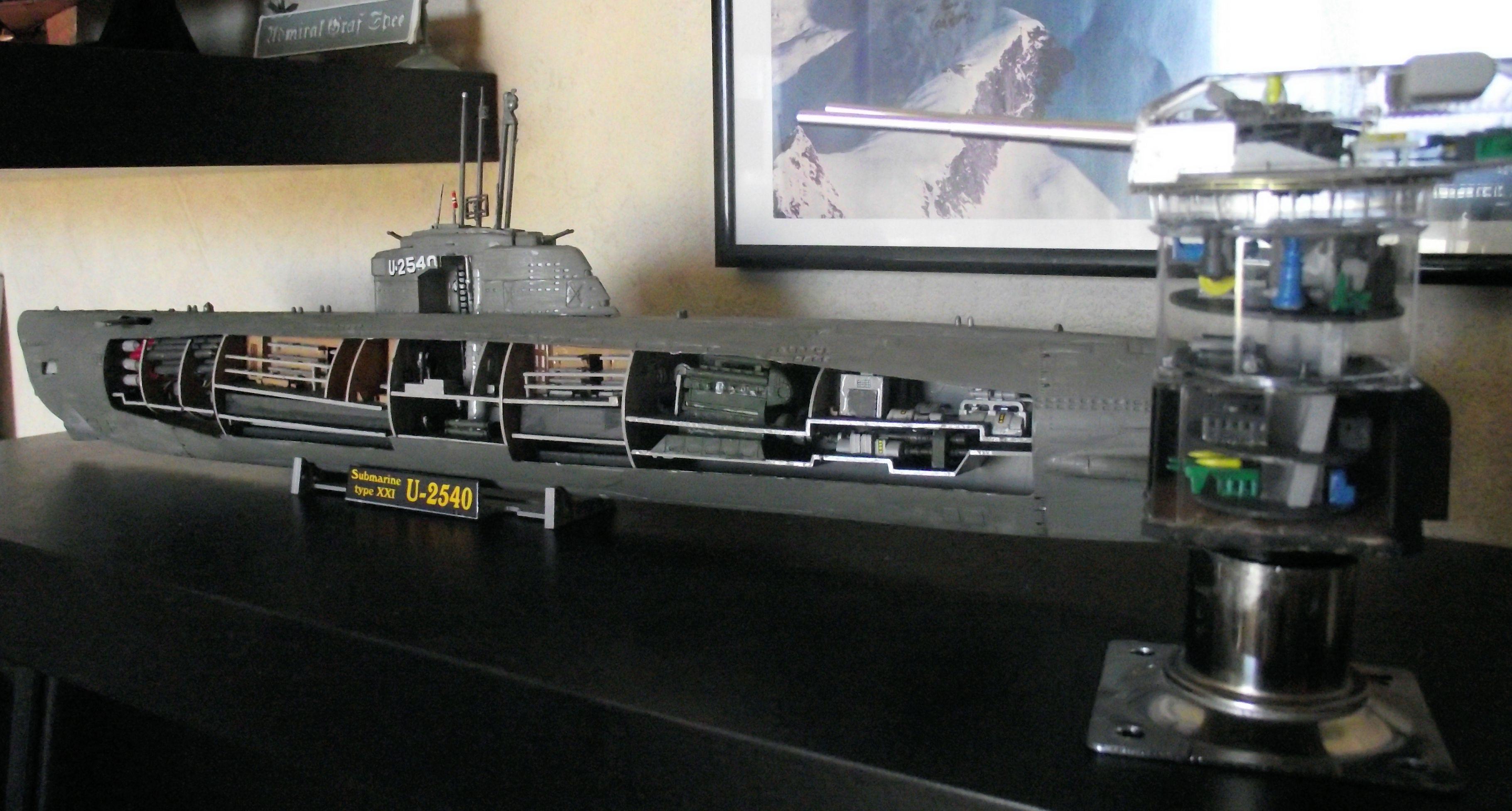 Sous marin Type XXI Revell au 1/125 526218DSCF0815