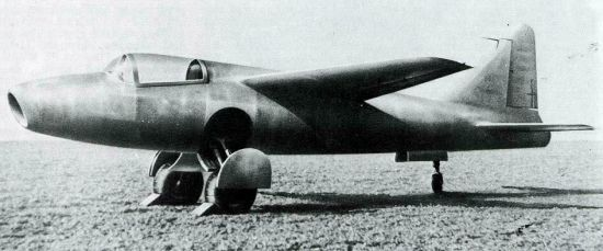 GRUMMAN F9F PANTHER  530615Heinkel_He178