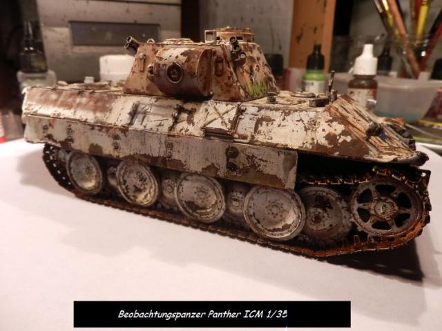réhabilitation d un Béobachtungspanzer Panther ICM 1/35 531612P4240400
