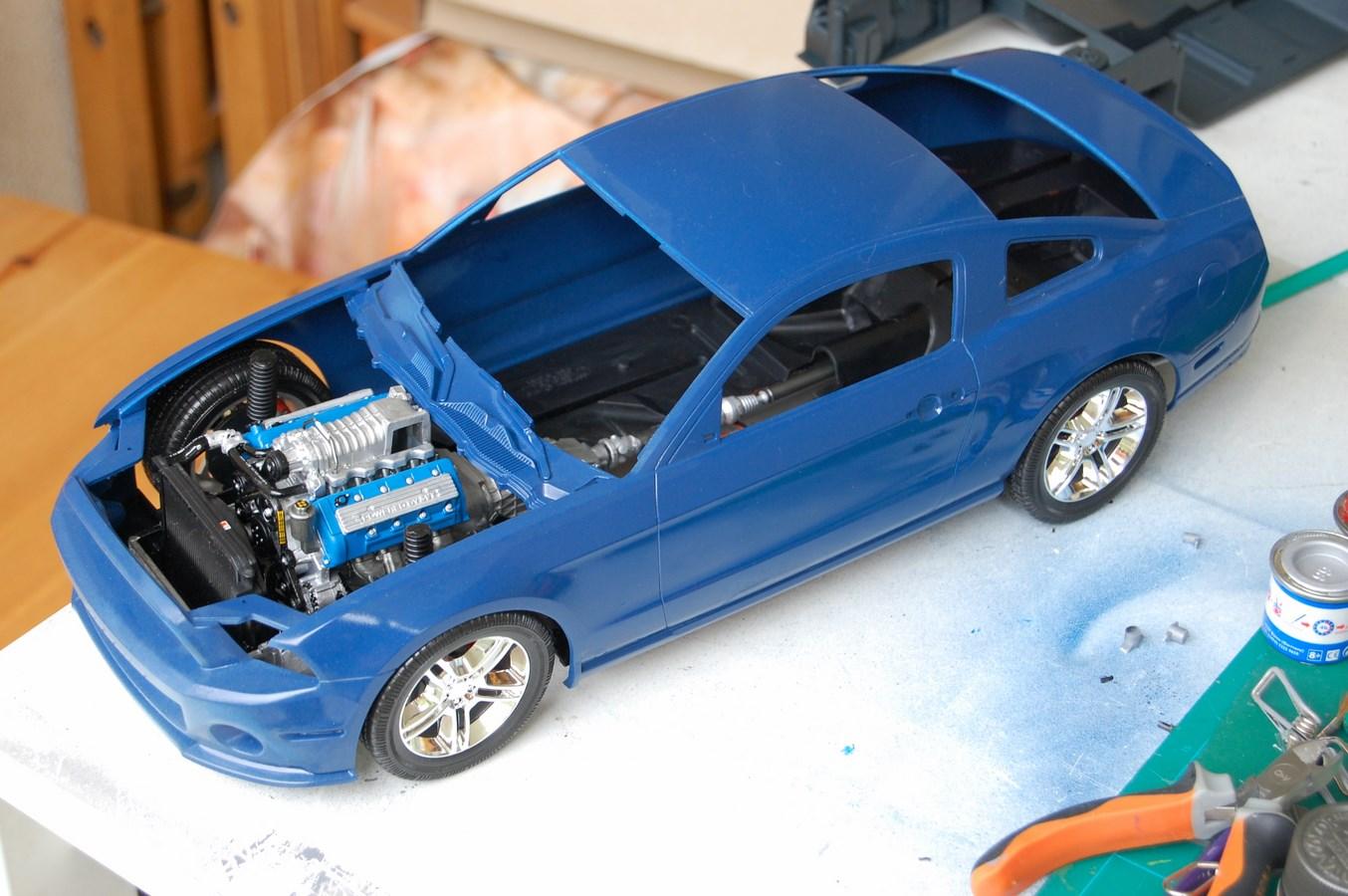 Shelby GT 500 version imaginaire Gendarmerie 532379Mustang24Copier