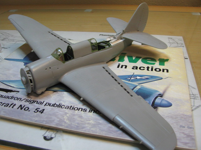 Curtiss SB2C-4 Helldiver  Revell 1/48  532583IMG1365