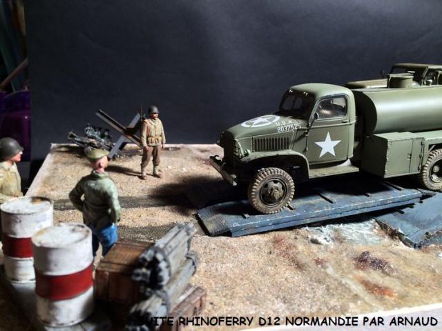 Rhinoferry D12 plage du débarquement Normandie (Hobby Boss, AFV, Italeri, 1/35) 534207rhinoferry004