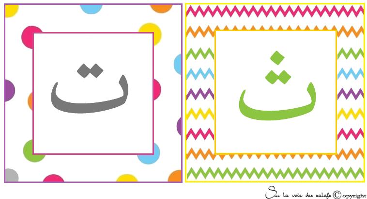 carte d'alphabet Arabe 5342222tth