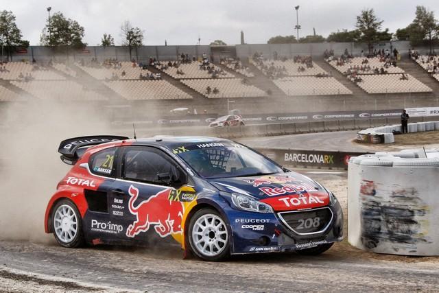 Le Team Peugeot Hansen creuse l'écart à Barcelone 53578355feca3665fbf
