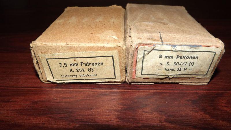 Boites de cartouches Française Germanisé 535821372130patronen