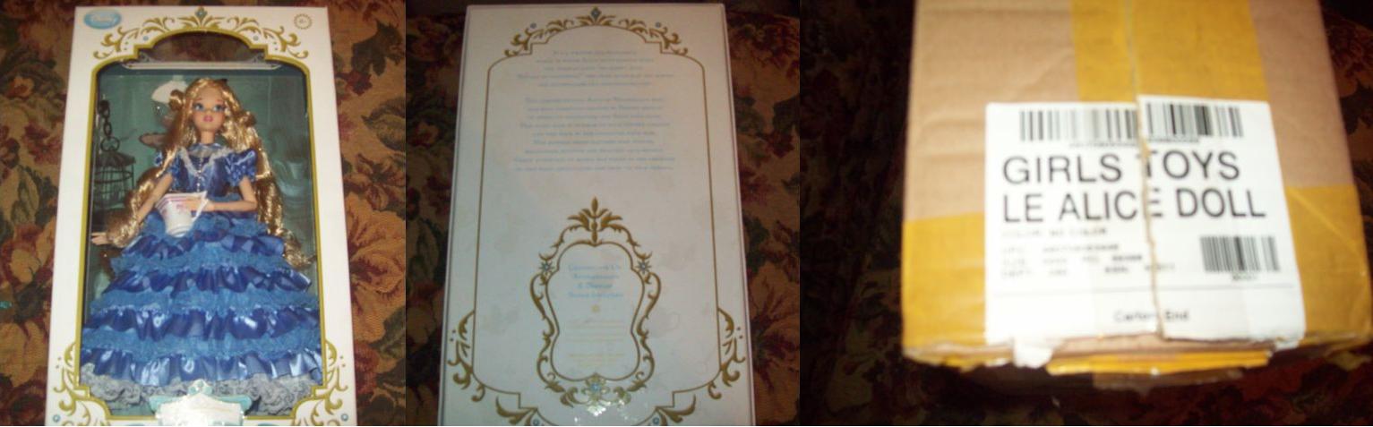 Disney Store Poupées Limited Edition 17'' (depuis 2009) - Page 40 536176Alice