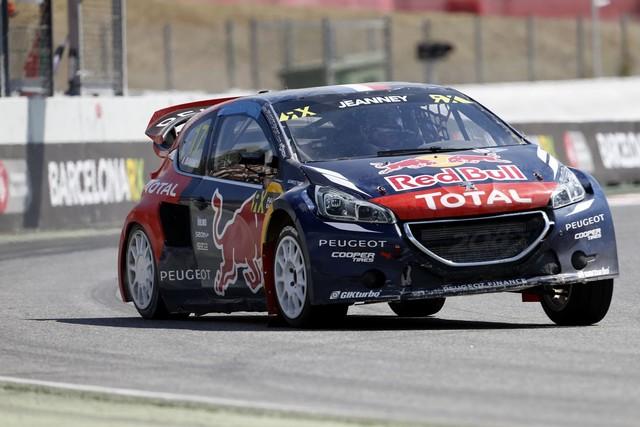 Le Team Peugeot Hansen creuse l'écart à Barcelone 5367542015RXBarcelona276