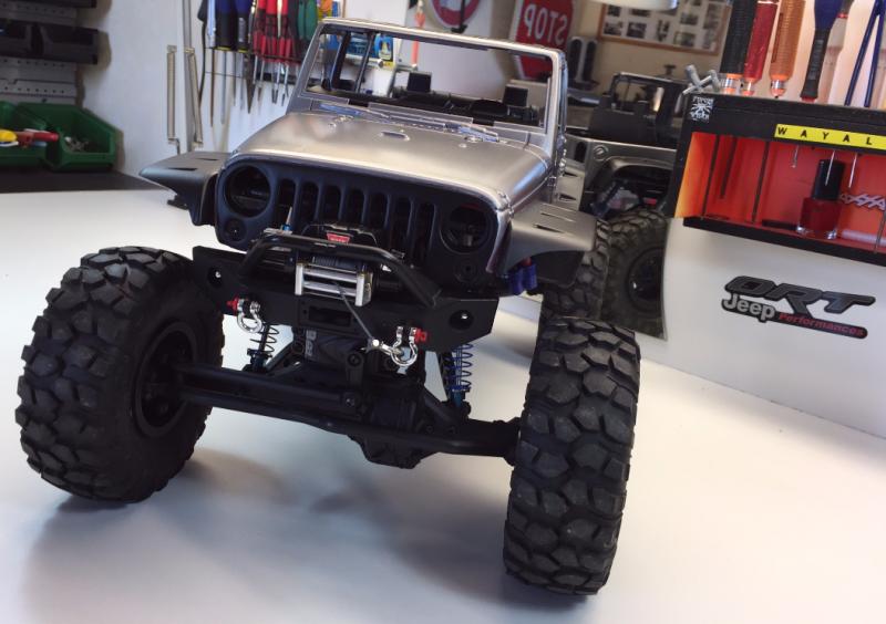 Jeep Rubicon Wraith New Bright 5369622425