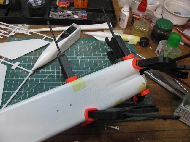 Avro Arrow CF-105 1/48 Hobbycraft 538079IMG11668