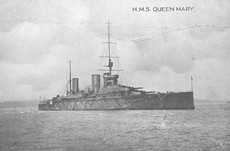 ROYAL NAVY CROISEURS DE BATAILLE CLASSE LION 538792HMS_Queen_Mary_2