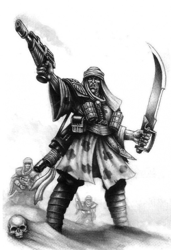 [W40K] Collection d'images : La Garde Impériale 542171TallarnDesertRaidersattack
