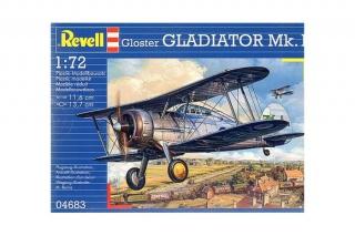gloster gladiator mk1 revell 542727glostergladiatormki172revell4683