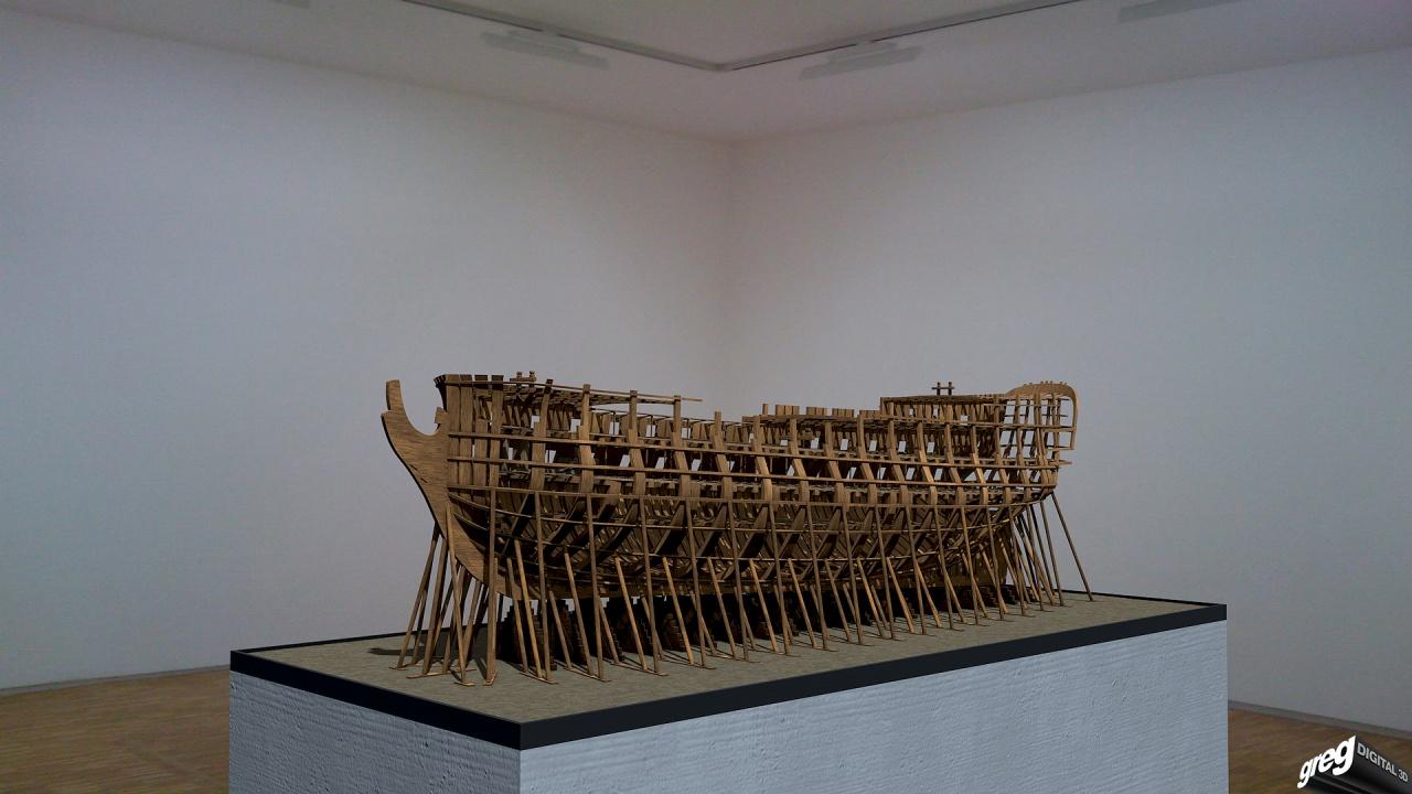 La Lucide - Vaisseau 74 canons (Création 3D) par Greg_3D 546763Squelettemuse